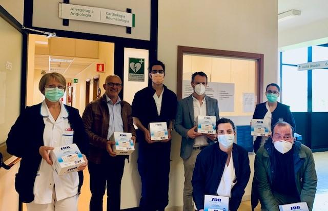 LAETA CONSULTING BCORP E V-SHAPES PER I MEDICI E INFERMIERI DELLA CITTÀ DI BOLOGNA (2) con il patrocinio del Sindacato Medici Italiani